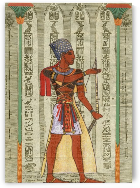 egyptian design man royal  by Shamudy