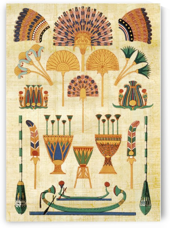 egyptian paper papyrus hieroglyphs   by Shamudy