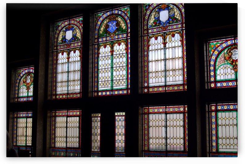 stained glass window krotoszyn by Shamudy