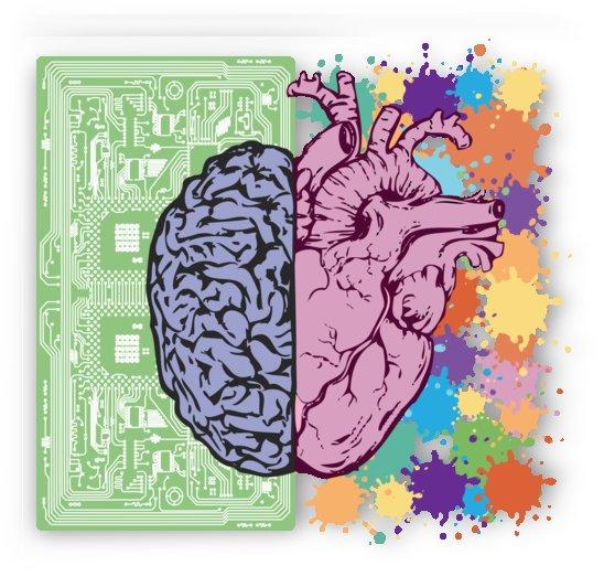 brain heart balance emotion by Shamudy