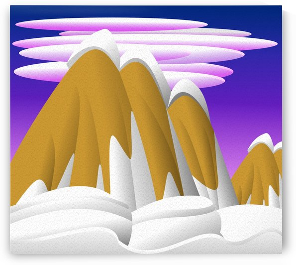 europa positive thinking mountain by Shamudy