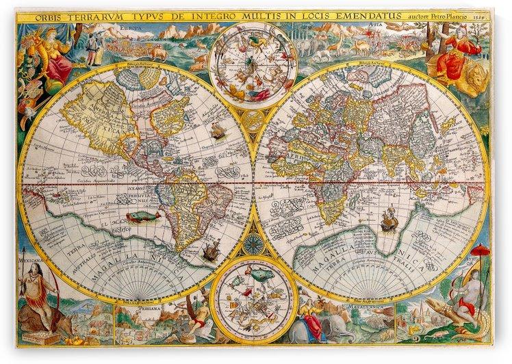 ORBIS TERRA RVM Old-Cartographic Map by xzendor7