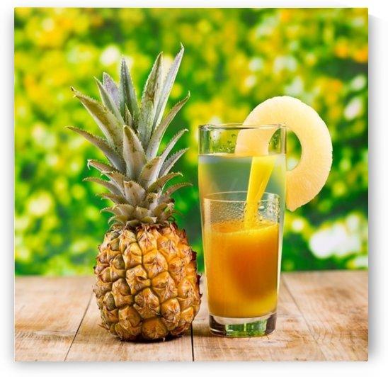 Pineapple Juice by Art-Works
