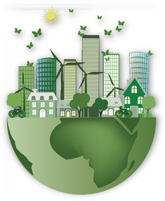 vector energy saving caring for the earth by Shamudy