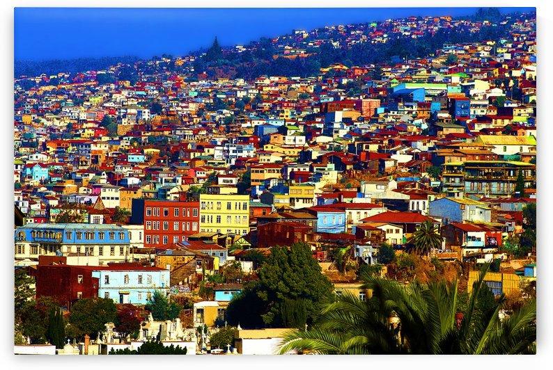 My Valparaiso Chile by Kurt Van Wagner