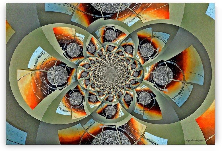 Mirror Infinity Amber by Faye Anastasopoulou