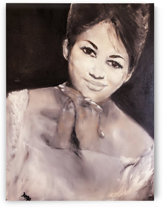 Aretha by  Claire Vines Artist