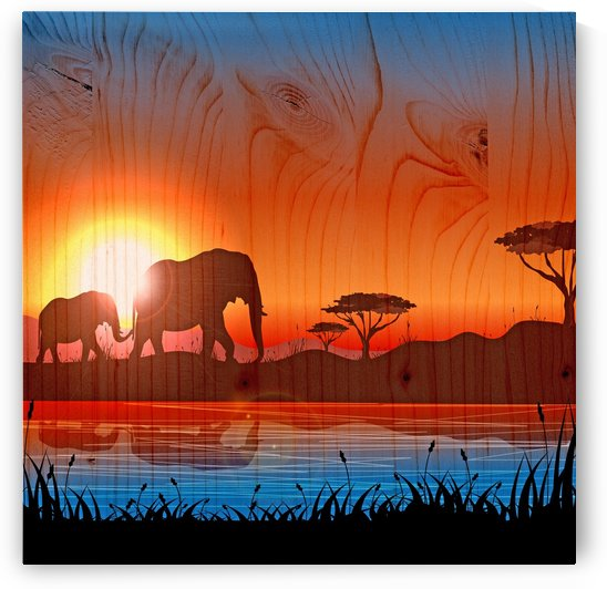 african background by Shamudy