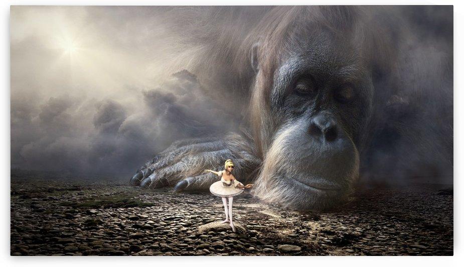 fantasy monkey dancer light by Shamudy