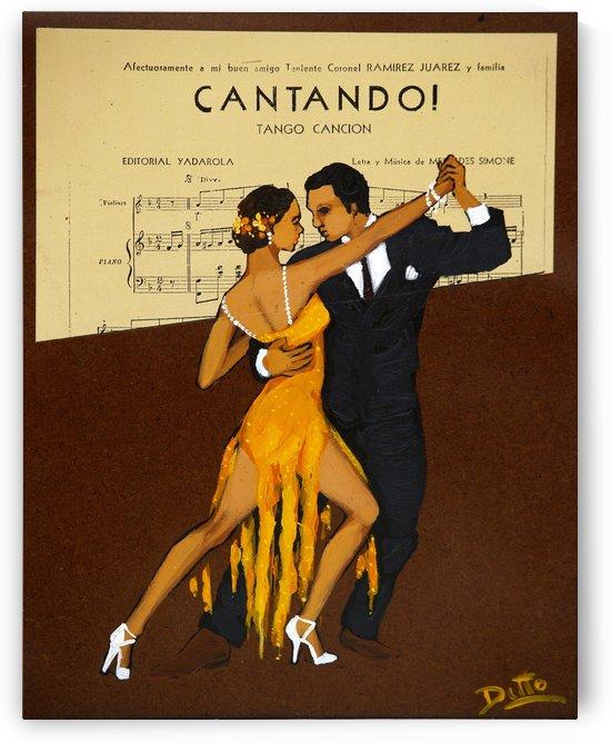 advertisement tango music dance by Shamudy