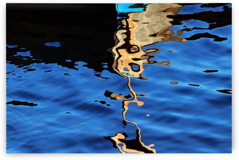 Gold In Motion II by Deb Oppermann