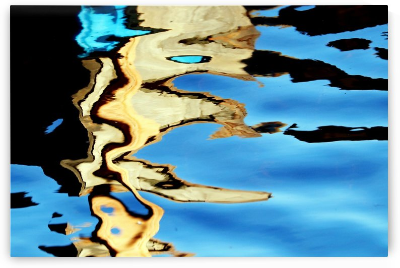 Gold In Motion III by Deb Oppermann