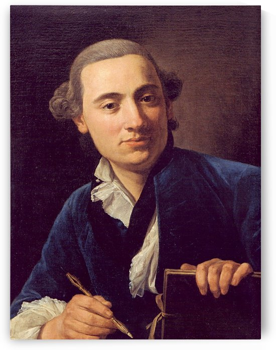Self-portrait by Henry Raebum
