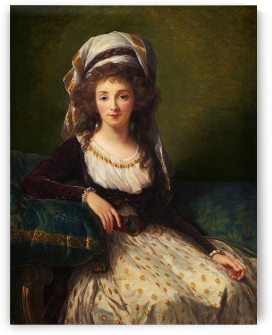 Madame dAguesseau de Fresnes by Elisabeth-Louise Vigée Le Brun by xzendor7