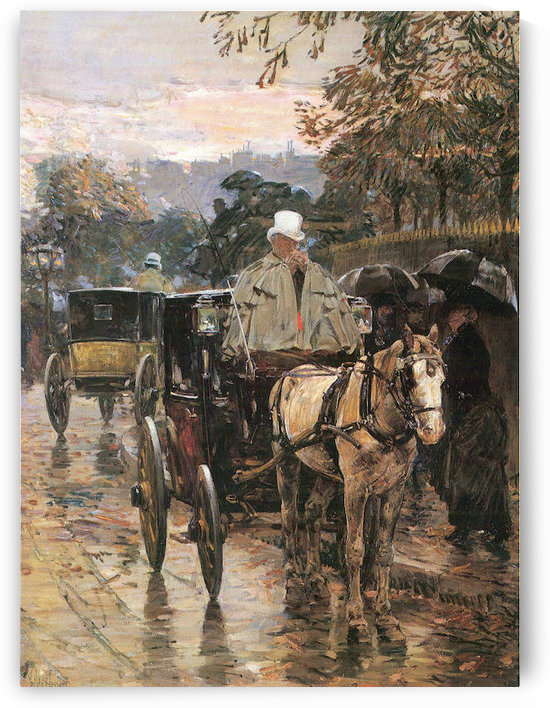 Rue Bonaparte -2- by Hassam by Hassam