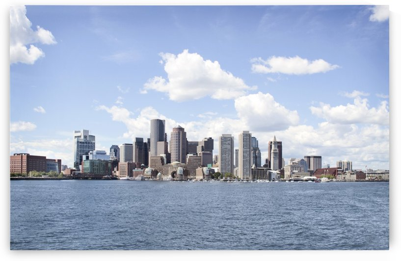 Boston skyline by Atelier Knox