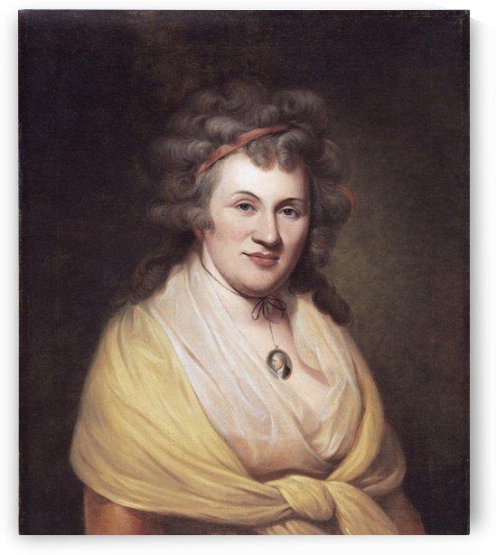 Elizabeth DePeyster Peale by Charles Willson Peal