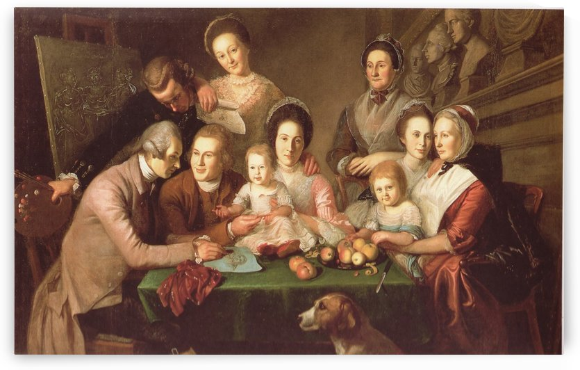 The Peale Family by Charles Willson Peal