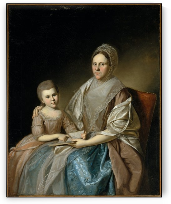Margaret an daughter by Charles Willson Peal