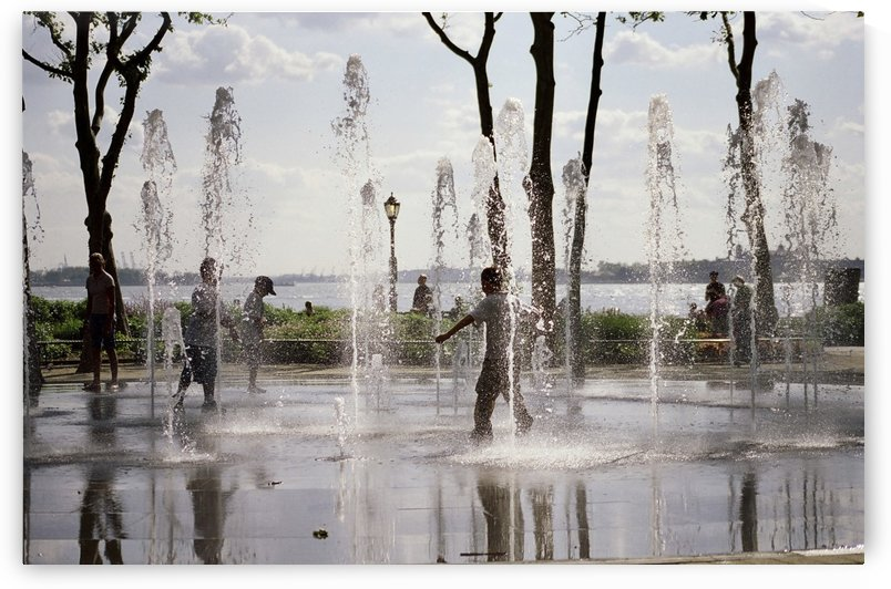 Battery Park Fountain New york city United states of america by Atelier Knox