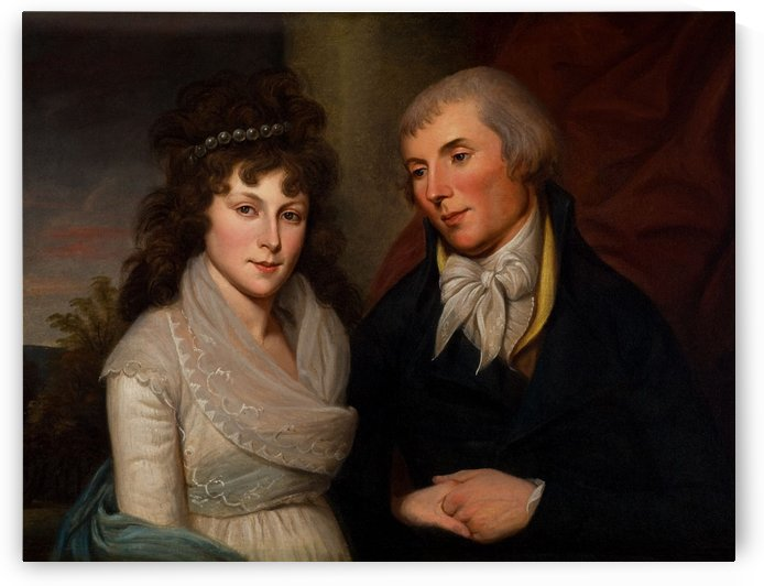Mr and Mrs Alexander Robinson by Charles Willson Peal