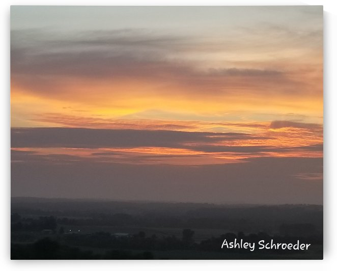 Shimmering Sky by Ashley Schroeder