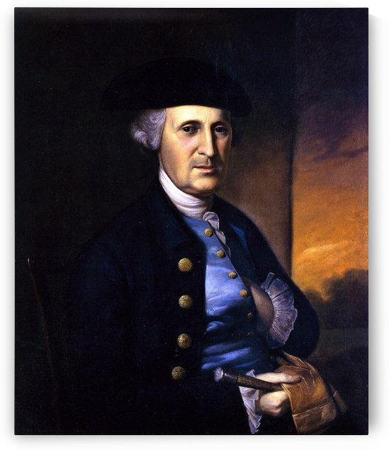 Portrait of a Maryland Gentleman by Charles Willson Peal