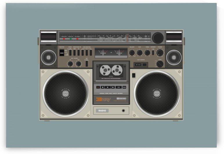radio cassette speaker sound audio by Shamudy