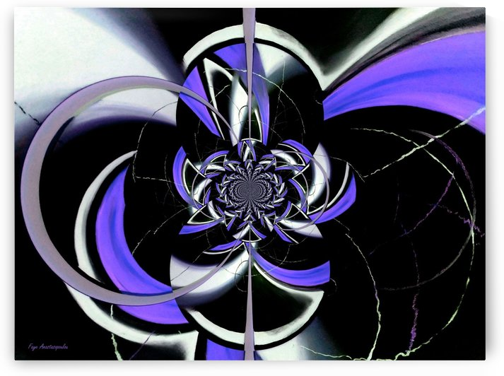 Dazzling Vector Lavender by Faye Anastasopoulou