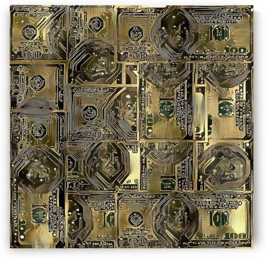 Dollar Pattern by Bruce Rolff