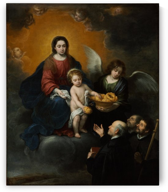 Bread to the pilgrims by Bartolome Esteban Murillo