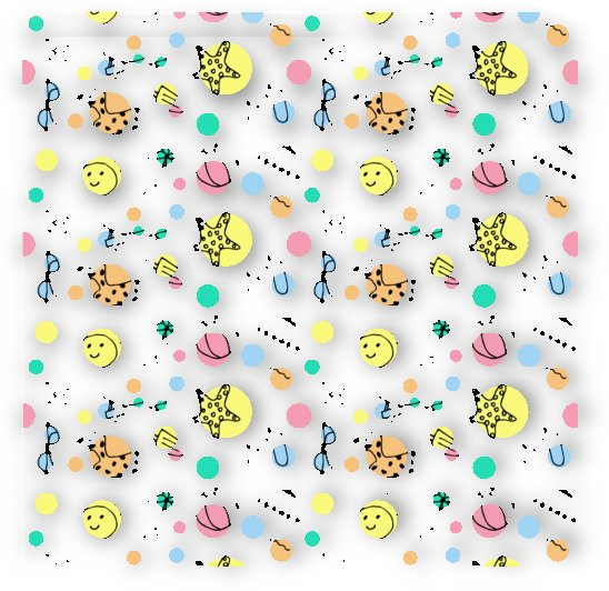 summer pattern design colorful by Shamudy