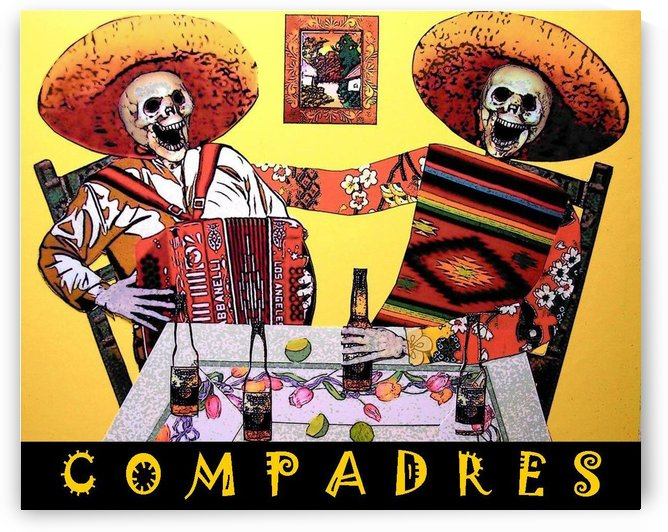Compadres by DONNA REIBSLAGER