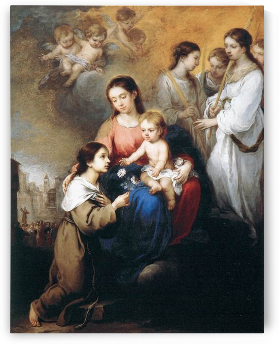 The Virgin and Child by Bartolome Esteban Murillo