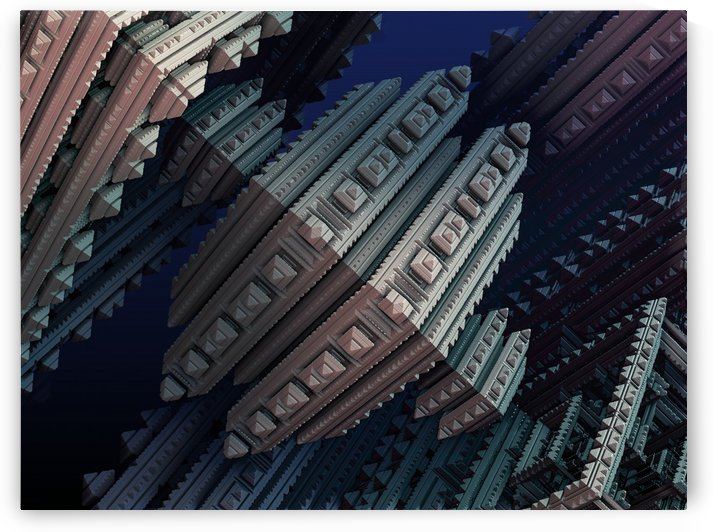 fractals 3d graphics shapes by Shamudy