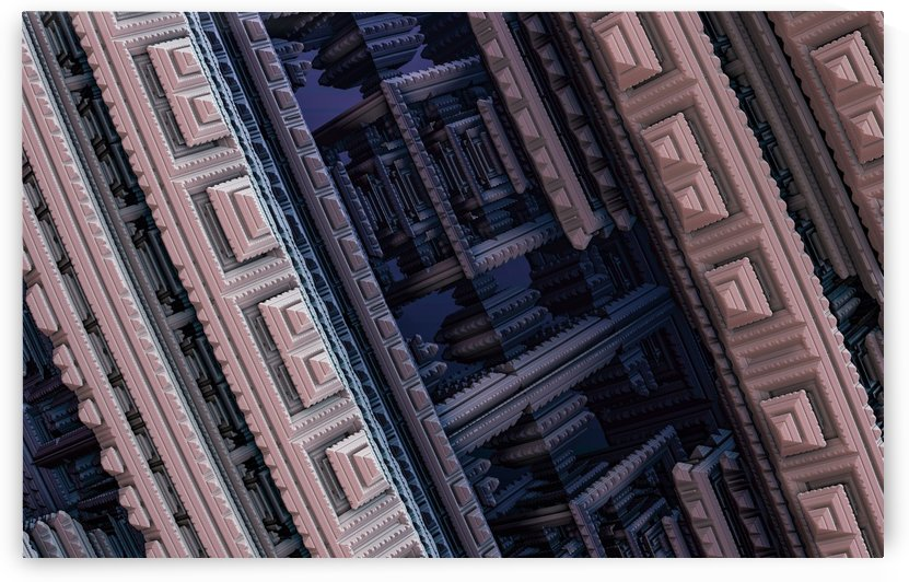 fractal 3d pattern graphics model by Shamudy