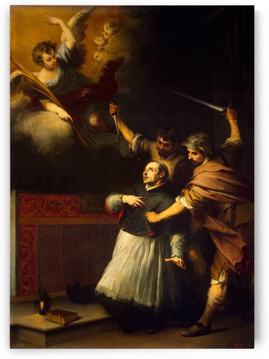 Death of the inquisitor by Bartolome Esteban Murillo