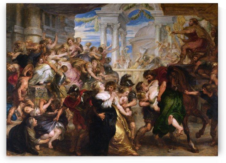 The Rape of the Sabine Women by Peter Paul Rubens by xzendor7