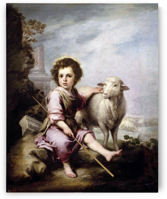 The God Sheperd by Bartolome Esteban Murillo