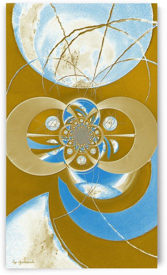 Cosmic Kaleidoscope Illustration by Faye Anastasopoulou