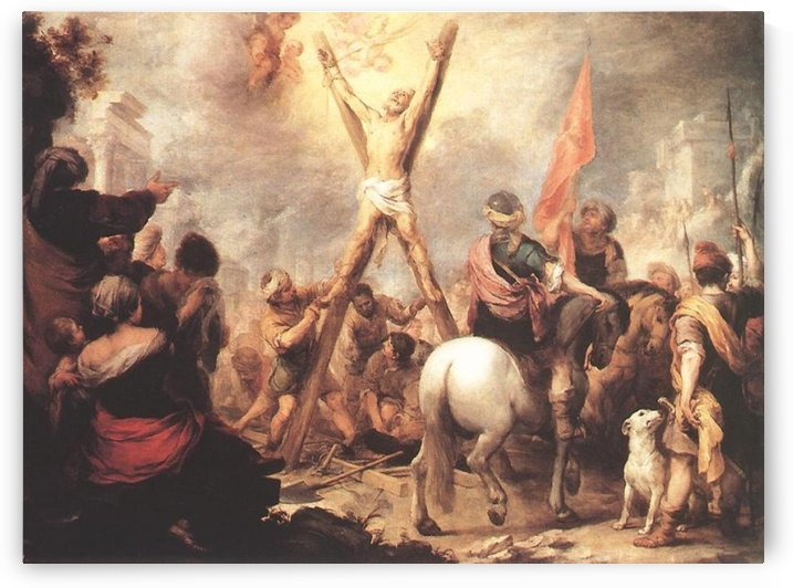 The Martyrdom by Bartolome Esteban Murillo