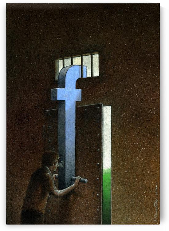 Facebook by Pawel Kuczynski