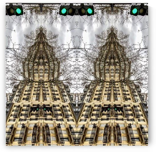 Paris - Streetlights  2018 by Hazz Brad