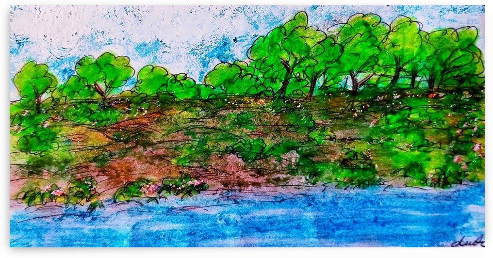 The Lake 2 by djjf
