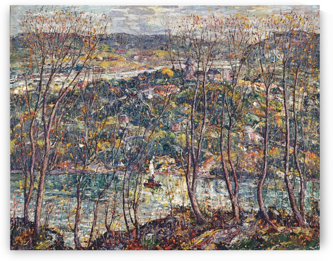 Spring tapestry by Ernest Lawson