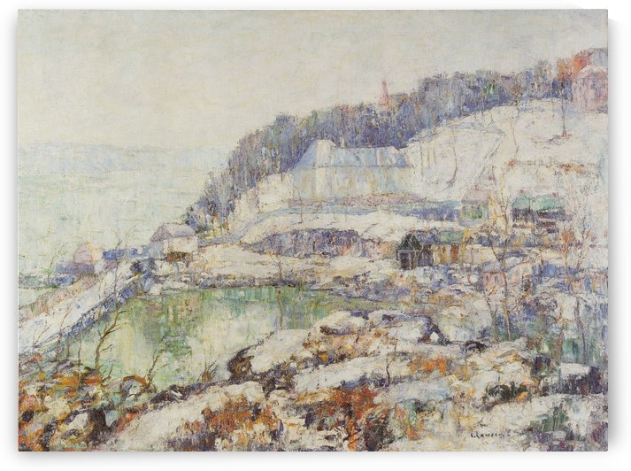 The Hudson by Ernest Lawson
