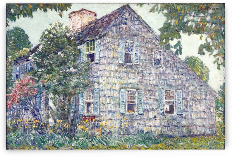 Hassam House by Ernest Lawson