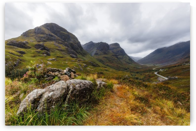 Glencoe three sisters by Robert Zahra