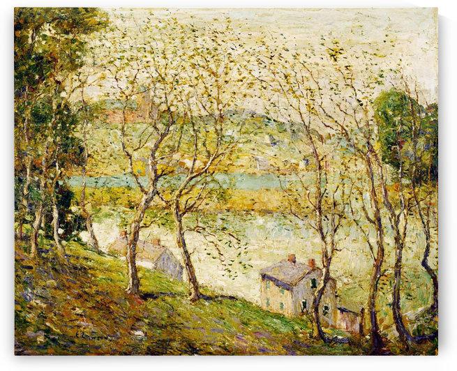 Springtime, Harlem River by Ernest Lawson