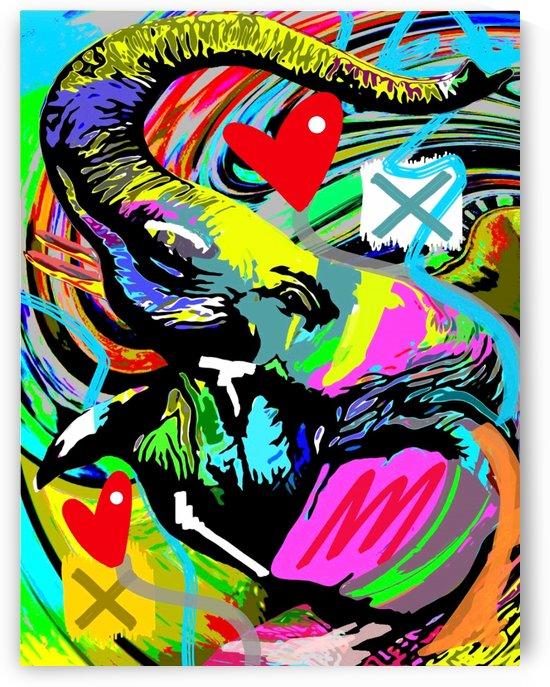Color Elephant by GABA